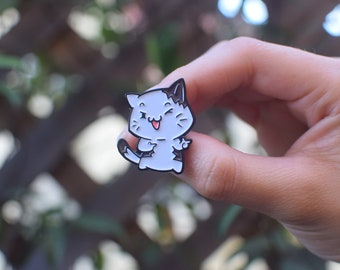Cat Aminal Soft Enamel Pin