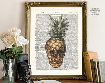 Hipster poster - bar decor - living room decor -  Poster Dictionary art, hipster Art - Print Wall Decor, Nursery Wall Art