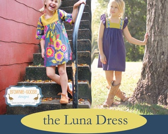 BG Originals The Luna Dress pdf pattern