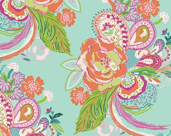 1 Yard of Petal & Plume Nib and Pluck Ursinia by Bari J for Art Gallery Fabrics