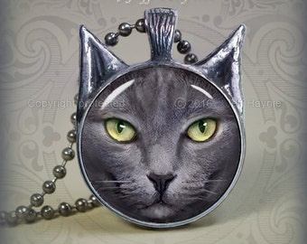 GK2 Grey Cat pendant