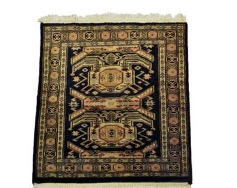 Kavkaz Square Hand Knotted Wool Rug