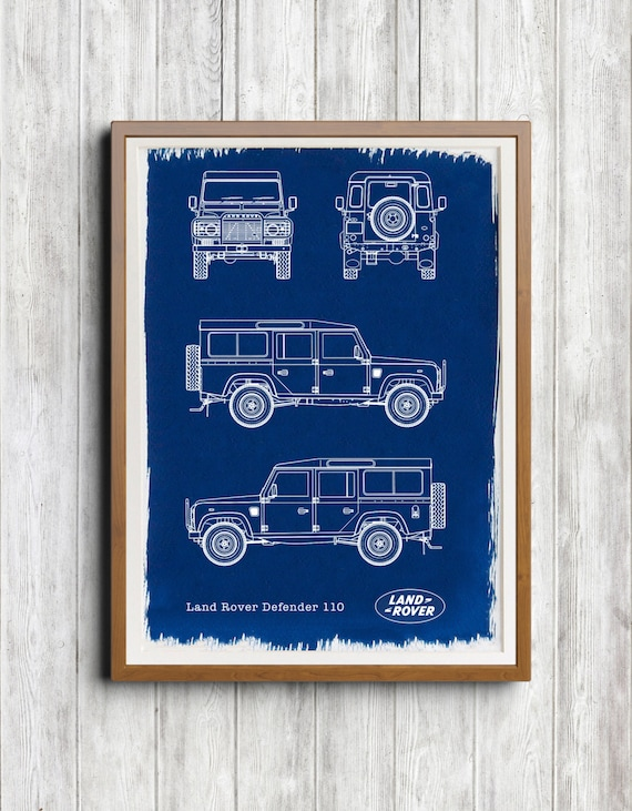 Land rover defender 110 a4 hand coated traditionally made malvernweather Gallery