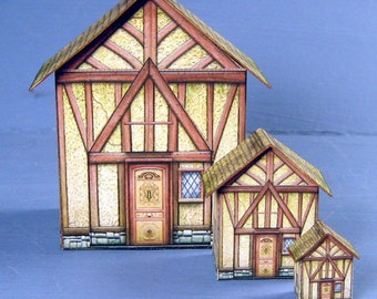 Dollhouse For Your Dollhouse Kit 1:24 Scale