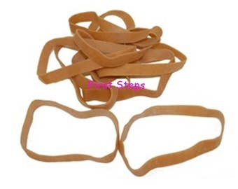 140 x Large Thick 4 inch x 1/2 inch Wide Rubber Elastic Bands No.85 100mm x 12.7mm