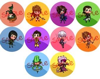 SENGOKU BASARA Buttons!