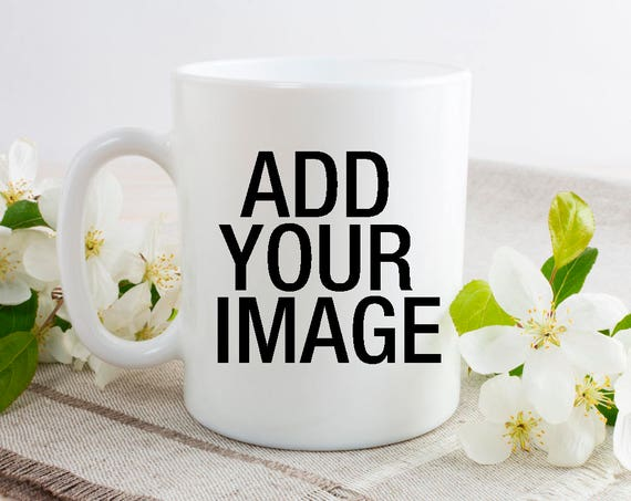 Girlfriend Gift, Coffee Mug, Custom Photo Mug, Personalized Picture Mug, Gift for Mom, Gift for Her, Gift for Wife, Boyfriend Gift