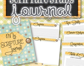 Scripture Journal - INSTANT DOWNLOAD