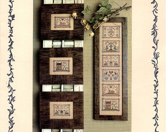 Miniature Samplers IV Cross Stitch, Sampler Cross Stitch Pattern, Samplers, Homepun Elegance Samplers, Samplers, by NewYorkTreasures on Etsy