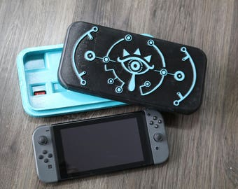 Nintendo Switch Sheikah Case 3D Print Breath of the Wild Zelda