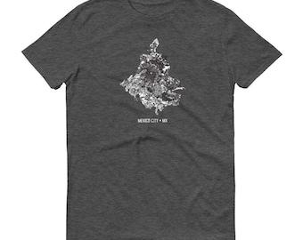 Mexico City Shirt, Mexico City, Mexico, Mexico City TShirt, Mexico City Gift, Mexico City Map, Mexico City Tee, Mexican Shirt, Mexico Map