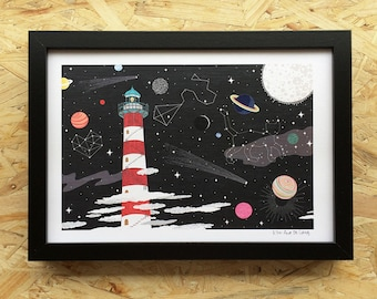 The tallest lighthouse on Earth-size A4