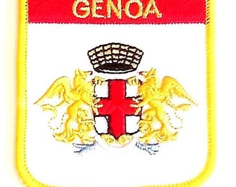 Genoa Embroidered Patch