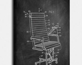 Chair Canvas, Chair Patent, Chair Vintage, Chair Blueprint, Chair Print, Chair Prints, Chair Wall Art, Chair Decor