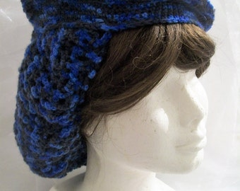 Hair NET hair NET NET blue crochet hair accessory hair pin-up pinup Beret NET hair hair NET