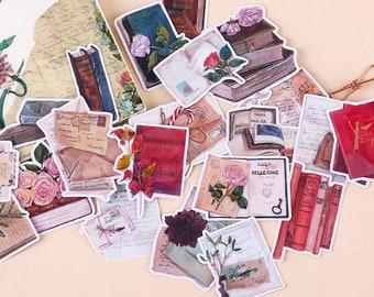 20pcs  Scrapbook Sticker --Filofax Stickers--Vintage Letter