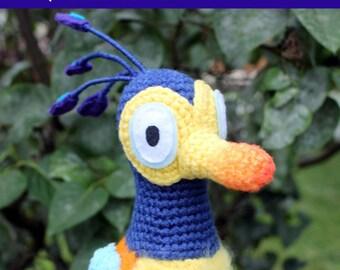 Crochet Pattern: Baby Kevin Bird PDF Instant Download