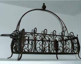 Wrought Iron/Metal Home Decor Basket