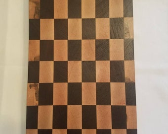 Checkerboard style cutting board