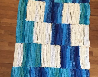 Teztured Square Afghan
