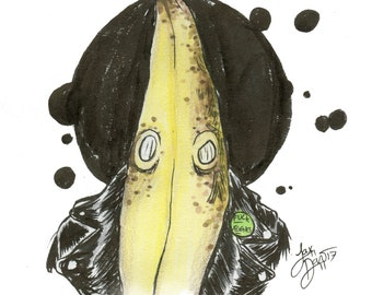 The Bad Banana (ORIGINAL ART)