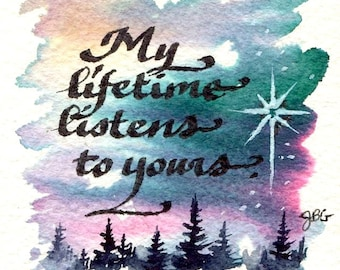 """Magnet - """"My lifetime listens to yours."""""""