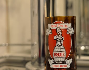 16 oz Recycled Pint Glass Rogue Dead Guy Ale
