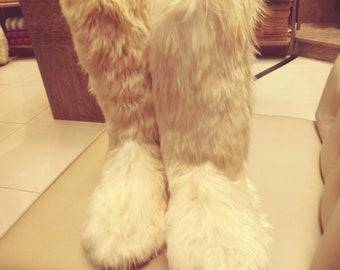 Unisex Baby Alpaca Slipper Boots