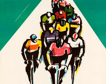 1976 Peace Race Bicycle Poster (#0404) 6 sizes