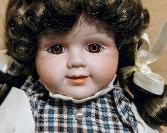 Mary Vintage Porcelain Doll