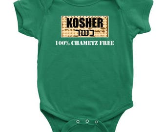 Passover Baby Bodysuit Clothing Seder Kosher Pesach Outfit Infant Clothes Playsuit Jewish Holiday Gifts For Children