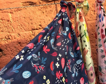 Night Bird scarf