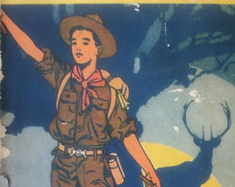 The Boy Scout to the rescue by George Durston 1921