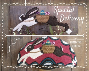Special Delivery Punch Needle Pattern