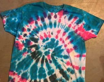 Spiral Wave Tie Dye tee