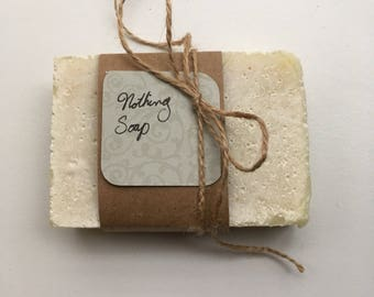 Nothing soap - No fragrance or dye