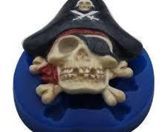 Pirate Skull Mould