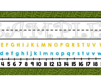 Where the Wild Things Are Name Plates! Great for teachers! Printable Name Plate for Desks!