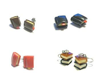 Bibliophile - Book Earrings
