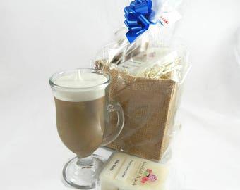 French Vanilla Candle & Wax Melts Gift Set
