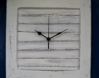 Cream Shabby Chic Wall Clock