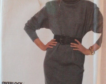Simplicity Super Saver Sewing Pattern - Easy To Sew Stretch Knit Dress - Simplicity 8316 - Sizes 6 -8-10, Bust 30 1/2 - 32 1/2, Uncut