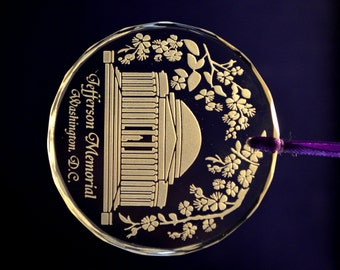 Jefferson Memorial, Washington DC Ornament