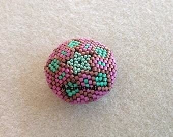 Saturn  Beaded bead TUTORIAL