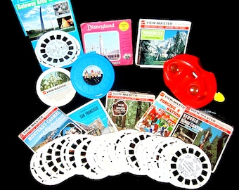 View-Master Charlie Brown Peanuts Reels Travel Destinations Vintage Collectible Toys