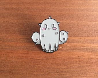 "Enamel Pin, Carly the Cactus, 1"" inch, Lapel Pin, Tokidoki, Ghibli"