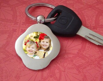 Key Chain for Her with custom photo personalized