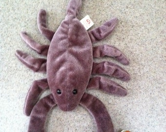 Vintage Ty Stinger the Scorpion Beanie Baby
