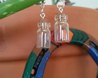 Little jar earrings