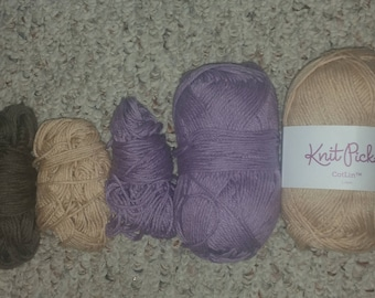 Lot of Knit Picks Cotlin Yarn